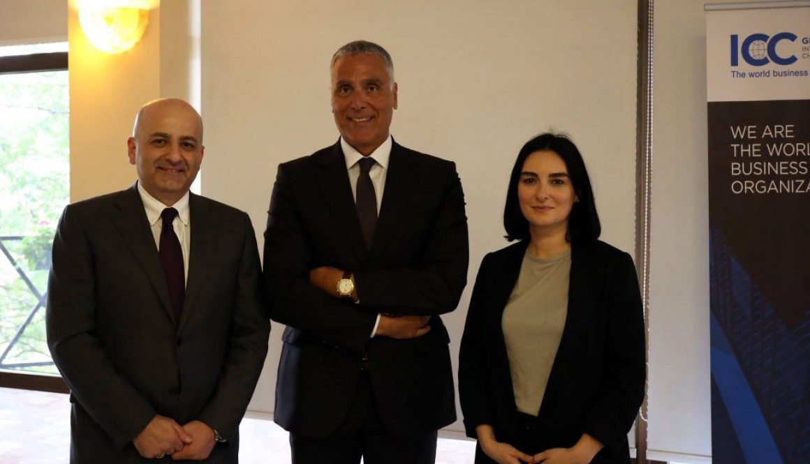 Mr. Fady Asly Chairman of Channel Georgia Consulting was re-elected Chairman of the International Chamber of Commerce in Georgia